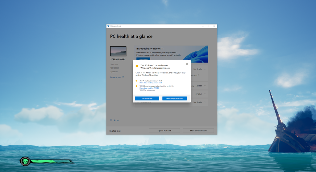 Microsoft will push PC Health Check app to all Windows 10 PCs - PCWorld